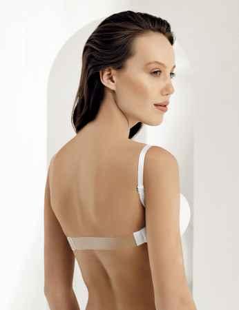 Şahinler - M9375 صدرية بيضاء مجوفة شفاف من الخلف (1)