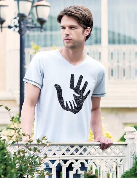 Big Bros Baskılı Erkek T-Shirt MEP22607