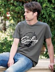 Big Bros Baskılı Erkek T-Shirt MEP22608 - Thumbnail