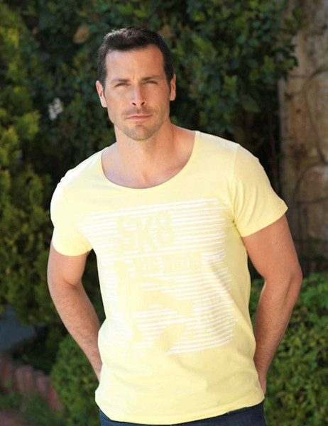 Şahinler - Big Bros Baskılı Erkek T-Shirt MEP22612 (1)