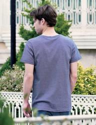 Big Bros Düğmeli Erkek T-Shirt MEP22602 - Thumbnail