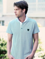 Big Bros Polo Neck Men T-shirt MEP22604 - Thumbnail