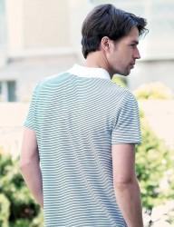 Big Bros Polo Neck Men T-shirt MEP22604 - Thumbnail