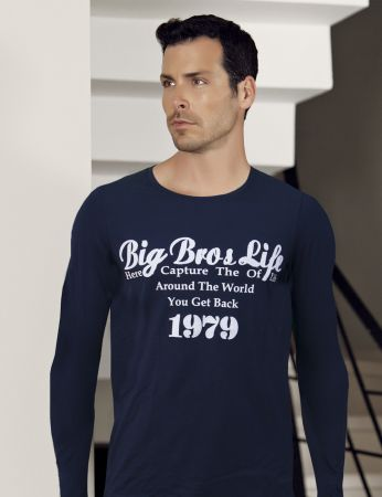 Big Bros Printed Men Sweatshirt MEP22609