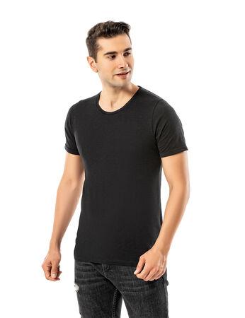 - LJUNG Erkek T-Shirt TML284001-BLACK