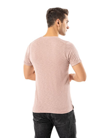Şahinler - LJUNG Erkek T-Shirt TML284001-BPINK (1)