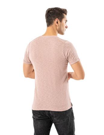 - LJUNG Erkek T-Shirt TML284001-BPINK (1)
