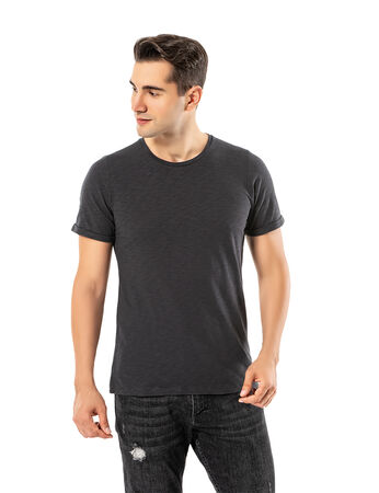 Şahinler - LJUNG Erkek T-Shirt TML284001-DAGREY