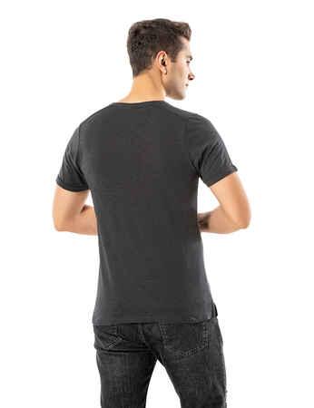 LJUNG Erkek T-Shirt TML284001-DAGREY - Thumbnail