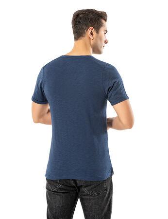 Şahinler - LJUNG Erkek T-Shirt TML284001-DUSTYBLUE (1)