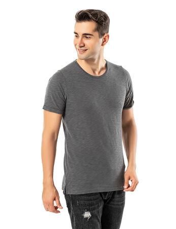 - LJUNG Erkek T-Shirt TML284001-GMGREY