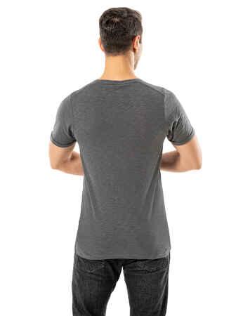 LJUNG Erkek T-Shirt TML284001-GMGREY - Thumbnail