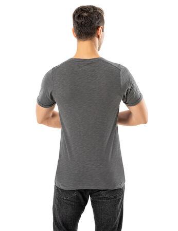Şahinler - LJUNG Erkek T-Shirt TML284001-GMGREY (1)