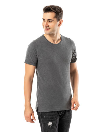 LJUNG Erkek T-Shirt TML284001-GMGREY
