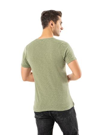 Şahinler - LJUNG Erkek T-Shirt TML284001-HERBGREEN (1)