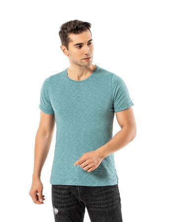 Şahinler - LJUNG Erkek T-Shirt TML284001-LJGREEN