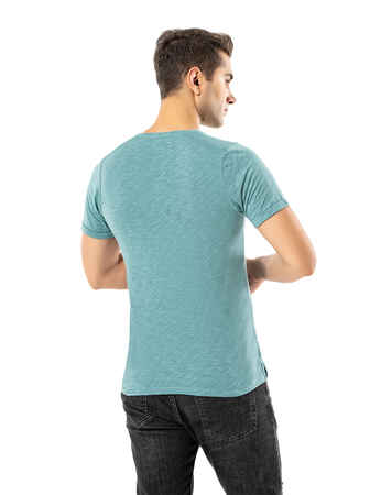 LJUNG Erkek T-Shirt TML284001-LJGREEN - Thumbnail