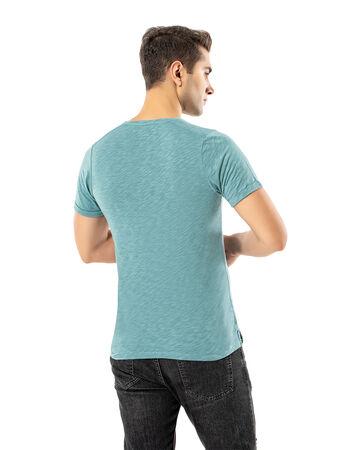 Şahinler - LJUNG Erkek T-Shirt TML284001-LJGREEN (1)