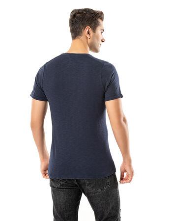 - LJUNG Erkek T-Shirt TML284001-NAVY (1)