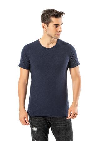 - LJUNG Erkek T-Shirt TML284001-NAVY