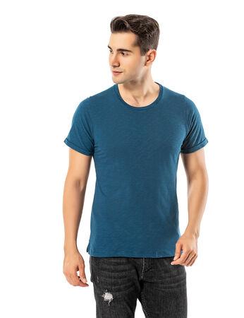 Şahinler - LJUNG Erkek T-Shirt TML284001-PETROL