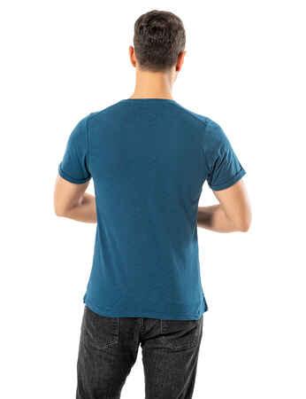 LJUNG Erkek T-Shirt TML284001-PETROL - Thumbnail