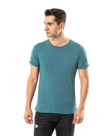 Şahinler - LJUNG Erkek T-Shirt TML284001-VGREEN