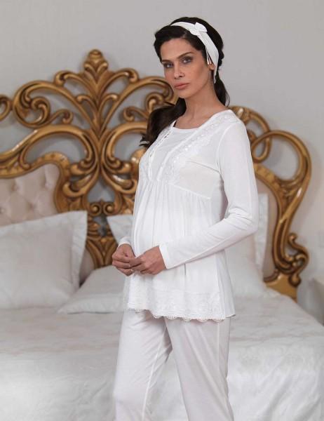 Şahinler - Материнство пижамы для послеродового MBP23123-1 (1)