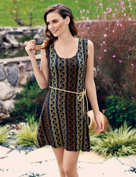 MBP23306-1 فستان Mel Bee