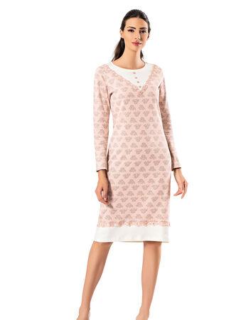 Şahinler - MBP23717-1 ثوب النوم للسيدات Şahinler