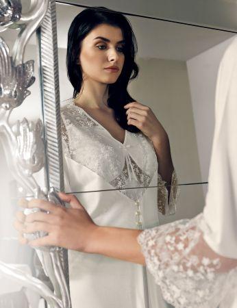 Şahinler - MBP24137-1 لباس الصباح - ثوب النوم Şahinler (1)