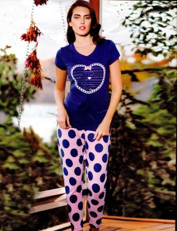 Mel Bee - Mel Bee Bayan Kalpli Takım MBP21736-2