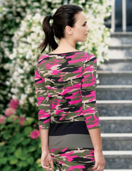 Mel Bee - MBP22322-2 فستان مموه (1)