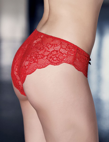 Mel Bee - Mel Bee Lace Brief Red Special Packaged MB3039 (1)