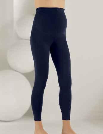 Mel Bee Maternity Leggings Dark Blue MB4501 - Thumbnail