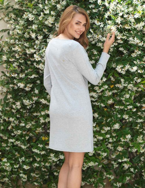 Mel Bee - Mel Bee Nightgown Long Sleeve MBP22304-1 (1)