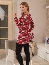 Mel Bee Платье С Леггинсами С Рисунком MBP22323-1 - Thumbnail