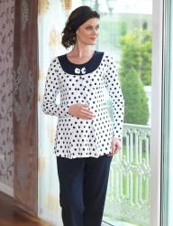 Şahinler - Mel Bee пижамы для послеродового MBP23121-1