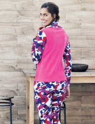 Mel Bee - Mel Bee Polar Women Patterned Pajama Set MBP23632-1 (1)