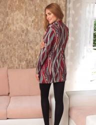 Mel Bee Pyjama mit weitem Kragen Leggins MBP22325-1 - Thumbnail