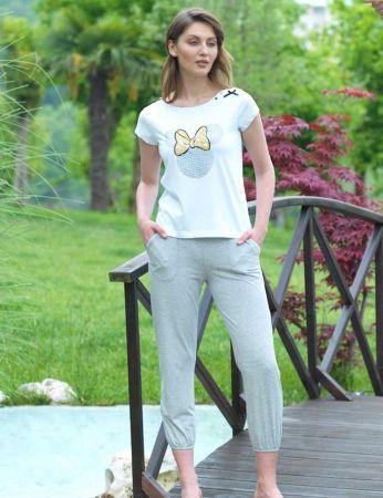 Şahinler - Mel Bee Women Capri Set D-12