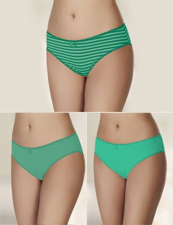 Şahinler - Sahinler 3-Packs Women Panties MB3072