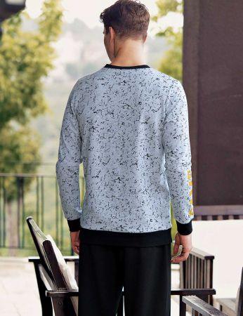 Şahinler - Şahinler Baskılı Erkek Pijama Takımı MEP24501-1 (1)