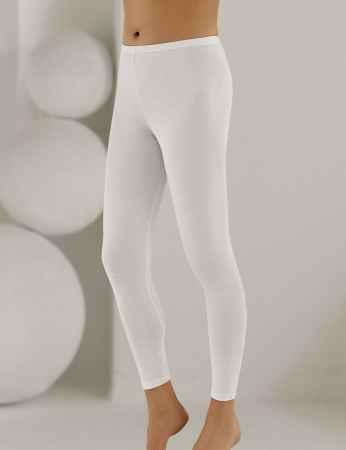 Şahinler Bayan Uzun Paça Tayt Beyaz MB886 - Thumbnail