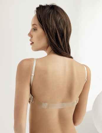 Şahinler - M9375 صدرية بيج مجوفة شفاف من الخلف (1)