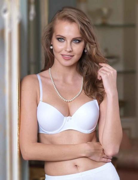 Şahinler - M9625 صدرية بيضاء حشو بدون اذان
