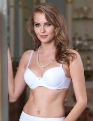 Şahinler - M9625 صدرية بيضاء حشو بدون اذان (1)