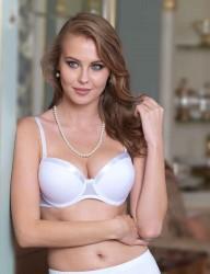 Şahinler - M9700 صدرية بيضاء مجوفة