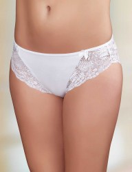 Şahinler - Sahinler Brief Lace Sided & Back White MB3031