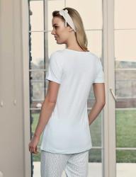Şahinler Damen Pyjama Set MBP23417-2 - Thumbnail